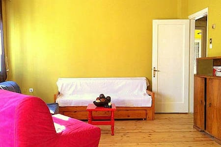Spacious apartment in the heart of Thessaloniki - Thessaloniki - Wohnung