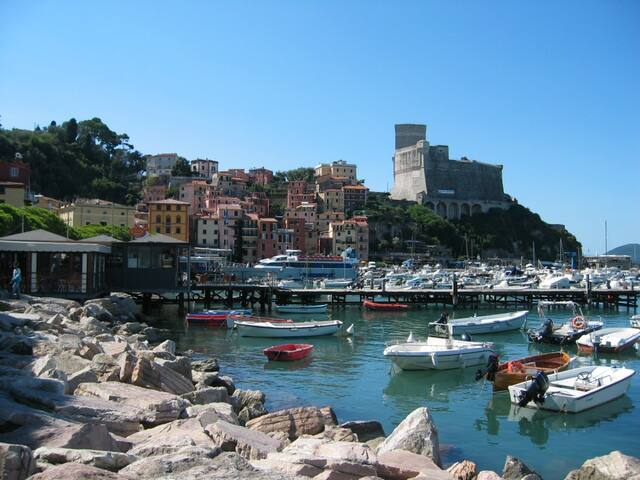 Lerici near Cinque Terre boarding - Lerici - Apartment