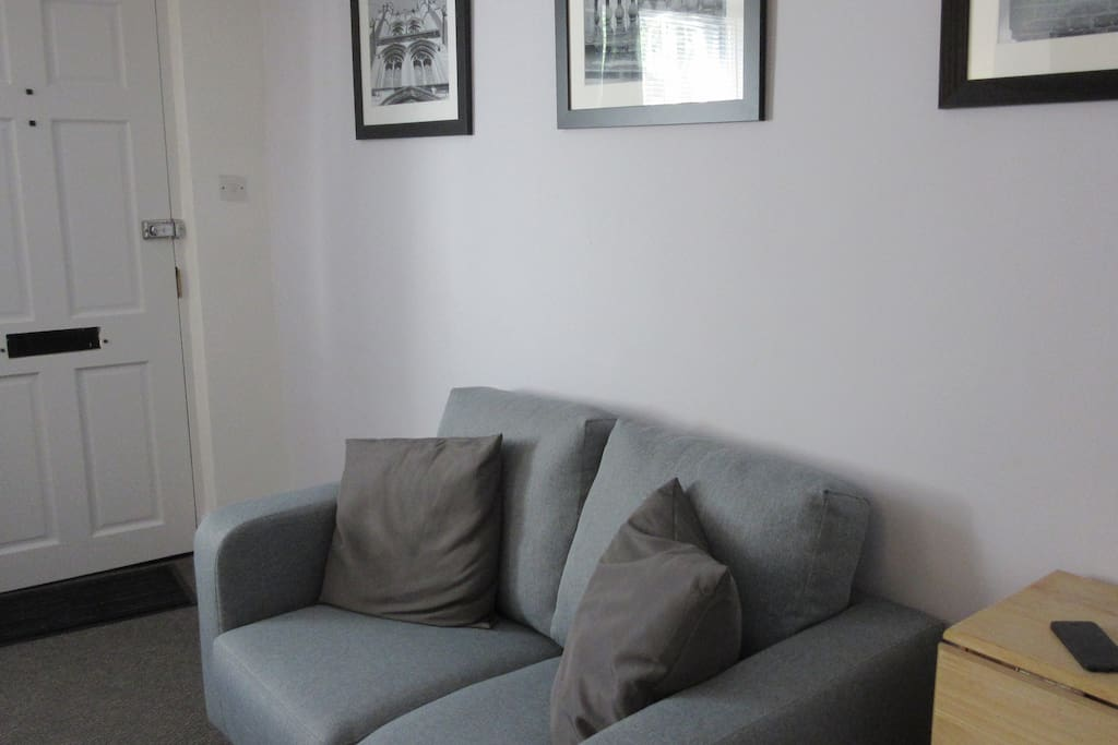 Small sofa in the lounge