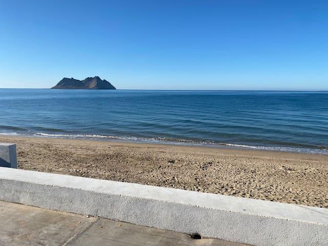 Departamento en la orilla del mar de Bahía de Kino