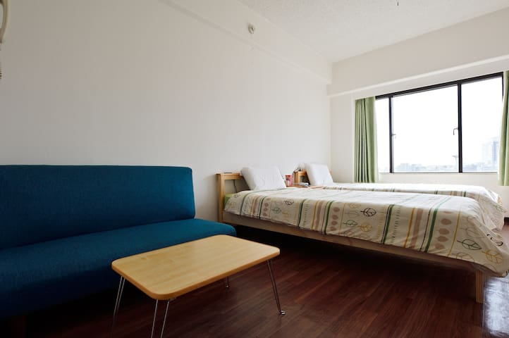 2 Min To Shin-Osaka  Station,Pocket Wifi Free。 - Ōsaka-shi - Apartment