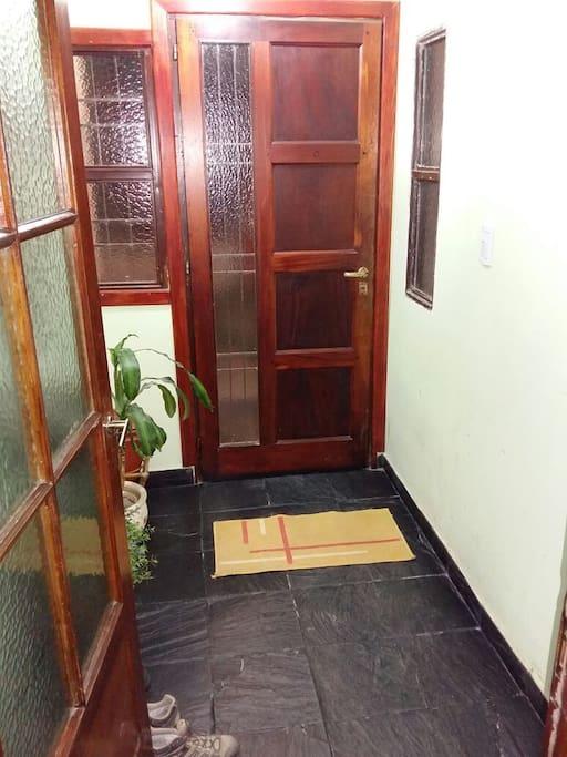 Entrada - Entrance