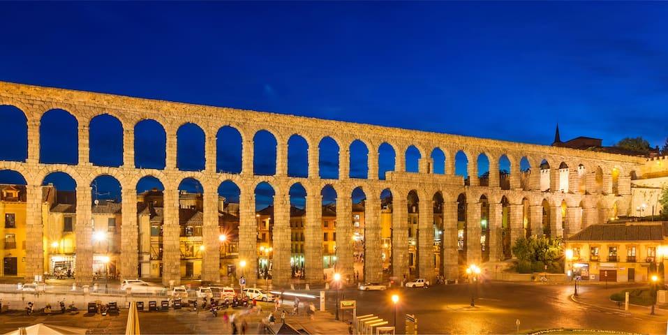 Acueducto romano. Año 112 DC.
