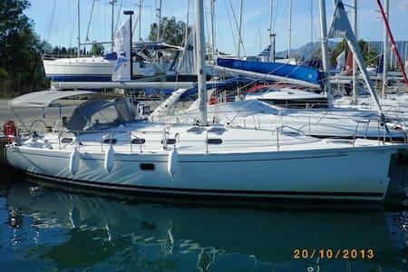 Sailing Yacht in Corfu Greece - Korfu