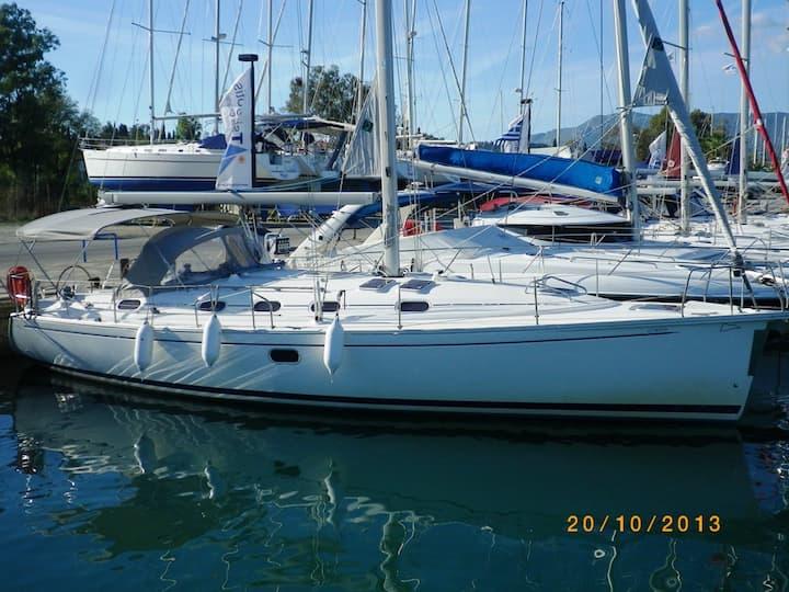 Sailing Yacht Armonia in Corfu Greece