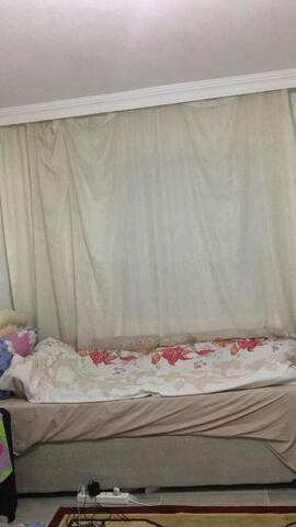 Kötekli standartlarının üstünde bir oda