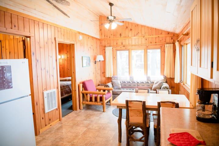 Beachfront Cabin with Screen Porch (Resort)