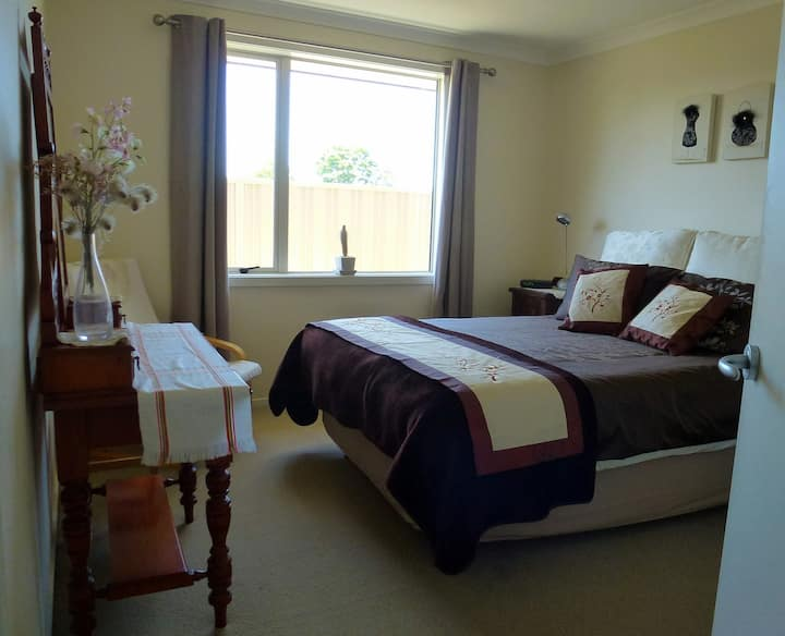 Comfortable bedroom in modern home in Napier