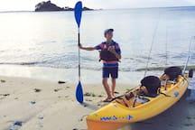 Kayak à Terenez