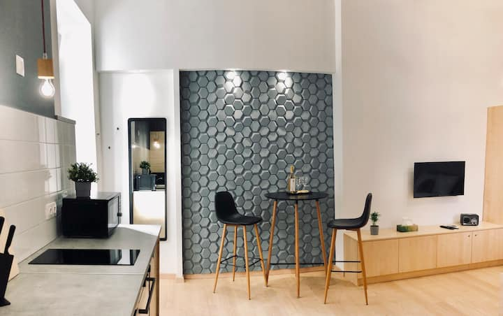 Modern Studio in the heart of Budapest