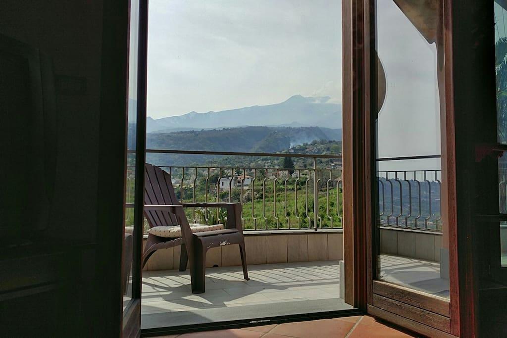 Balcony on Etna View