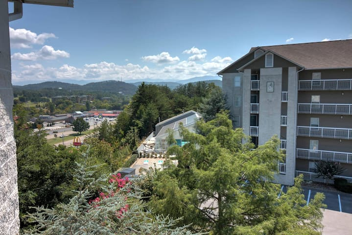 Free Dollywood Tkt, Upscale Decor, Downtown 2BR, City View