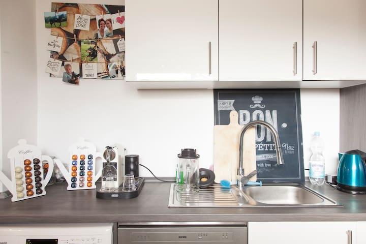 Schönes, helles, ruhiges Zimmer, trotzdem stadtnah - Aachen - Apartmen