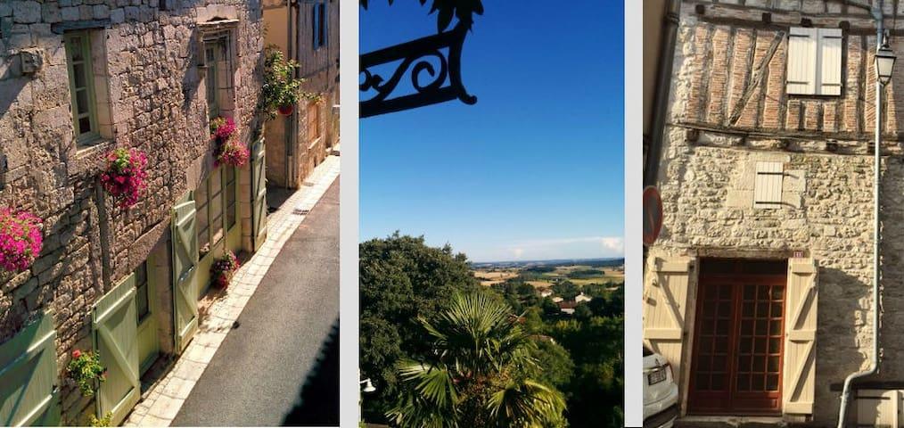 Terrace View, 3 bedrooms, price/day, entire house - Montpezat-de-Quercy - Haus