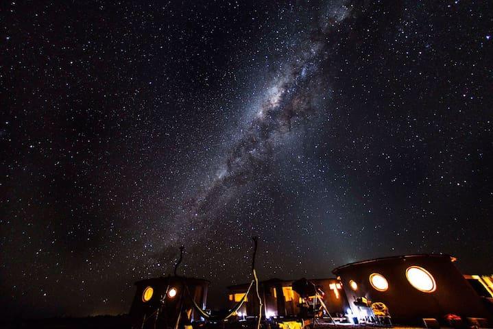 Habitación b/p en Tranquilo Refugio - San Pedro de Atacama
