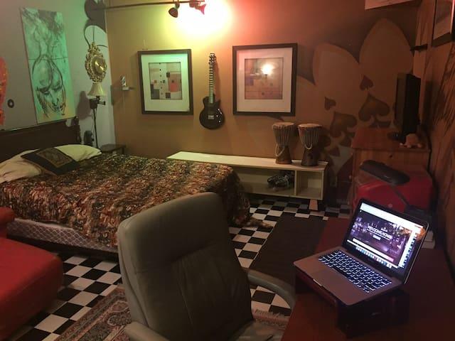 Ambient Creative Suite Loft Retreat