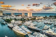 Fort Lauderdale BOAT Show:  Please be my guests it's only only 4.5 miles, 12 min
