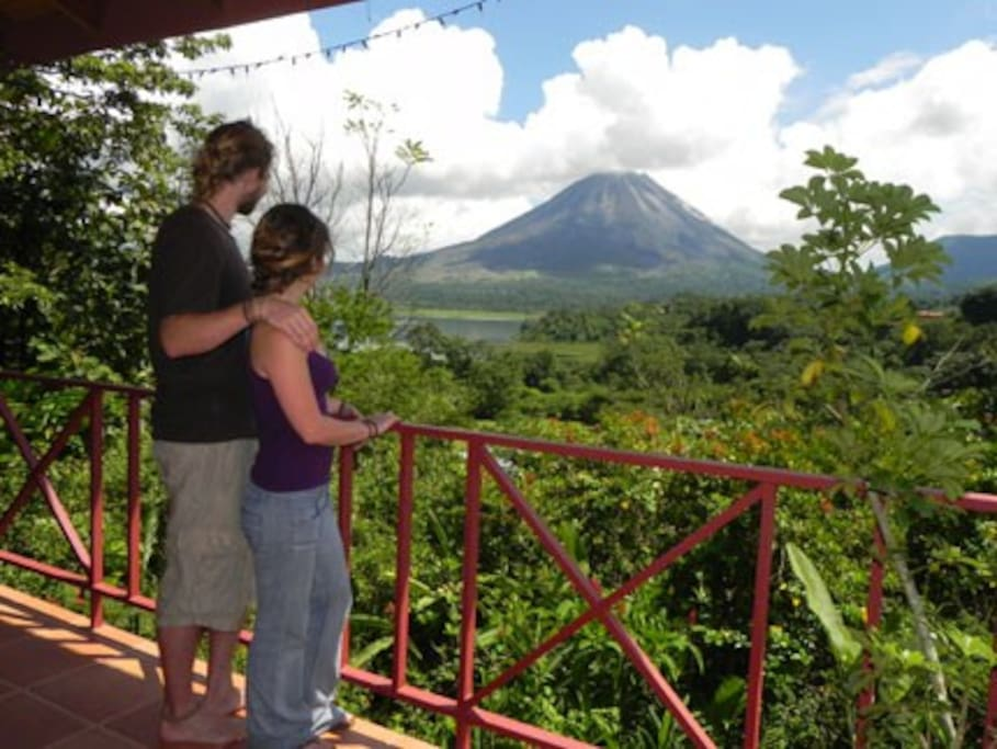 View of Arenal from The Nest