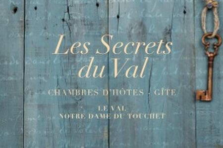 Les Secrets du Val Chambres et table d'hôtes