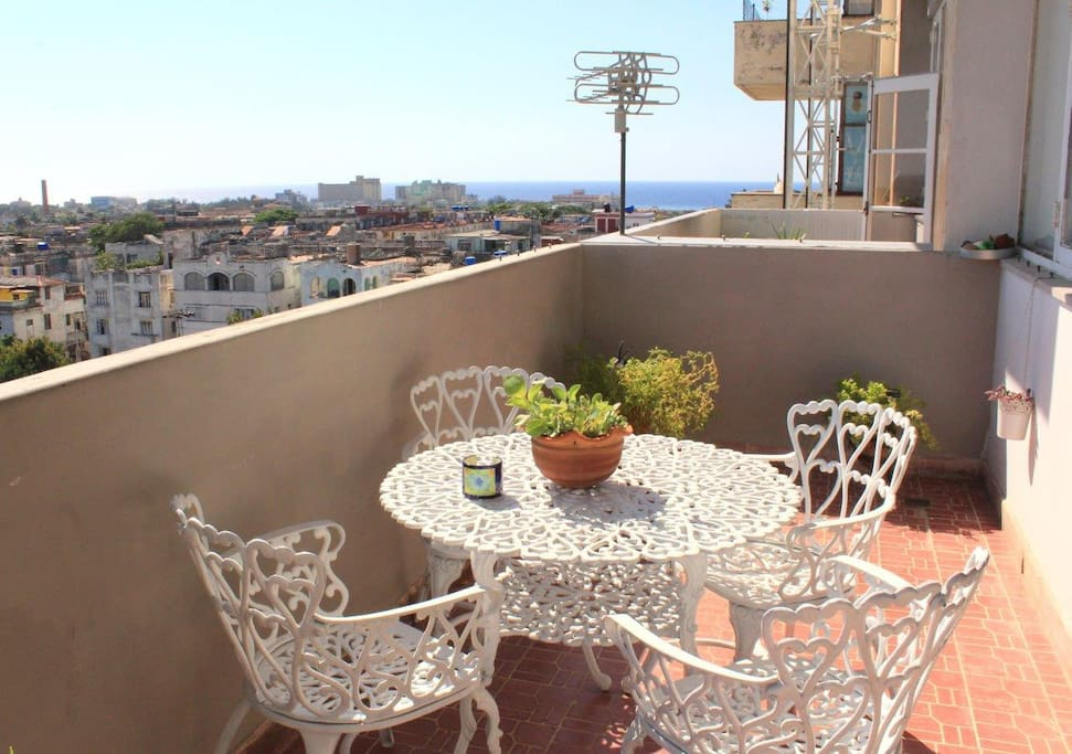 Other view of the terrace