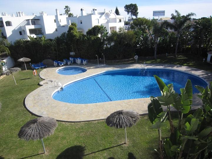 1 bed garden apartment - Las Palmeras