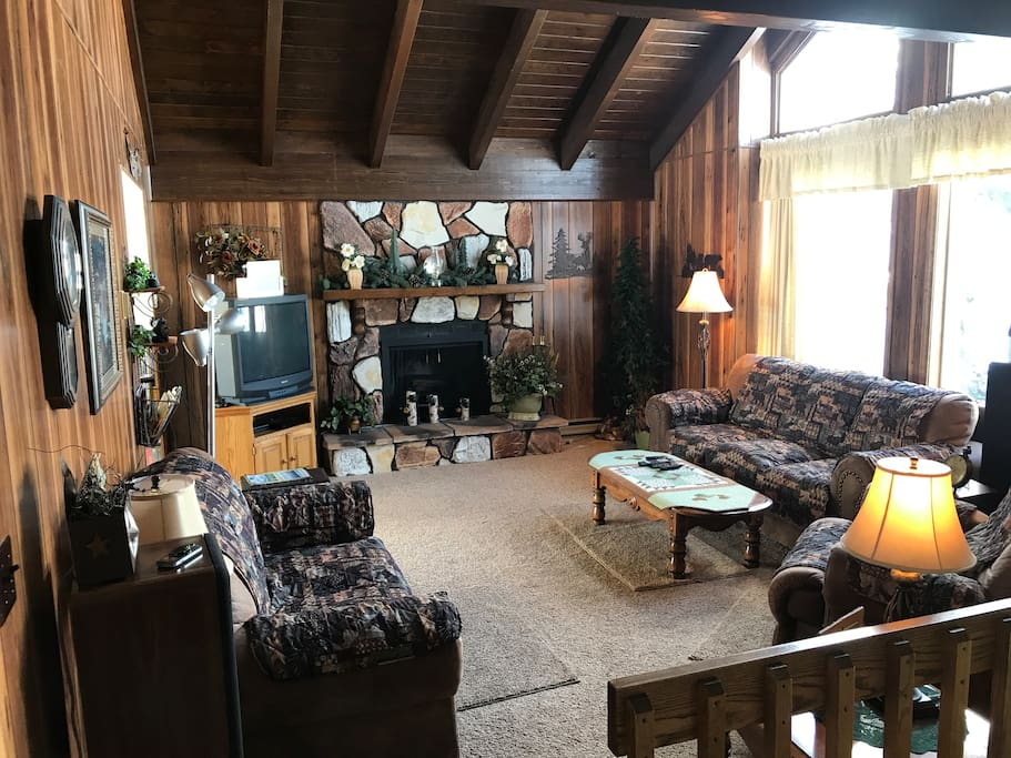 main level family room
