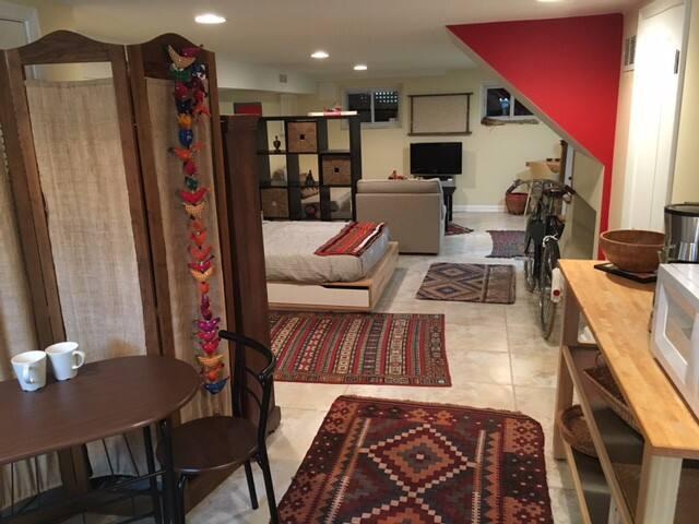 Spacious Fort Totten Studio Apartment