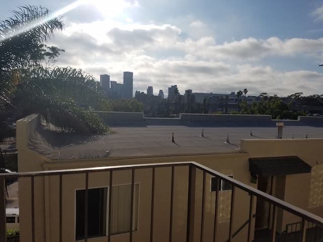 Golden Hill with a view of Downtown