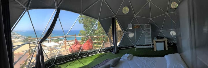 Eremo di Montevergine : Seaview Dome, suspended between sky and sea