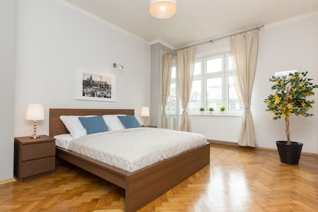 OLD TOWN 3-room Apartment w. balcony - 克拉科夫 - 公寓