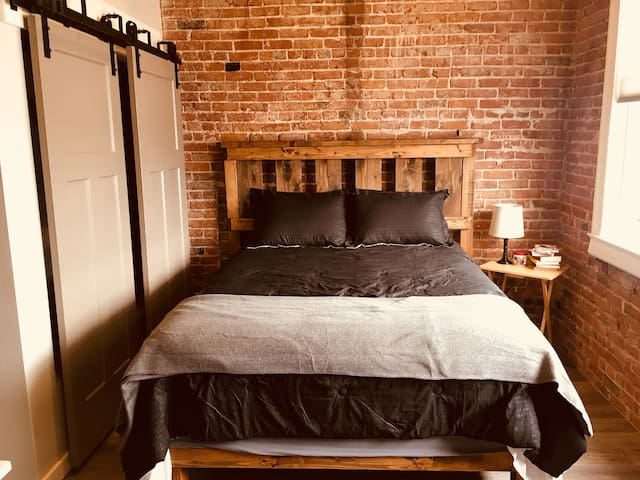 Brand New Apartment In Historic Downtown Building!