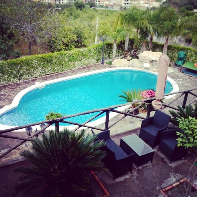 Villa Giulia Taormina...meravigliosa piscina privata in Villa