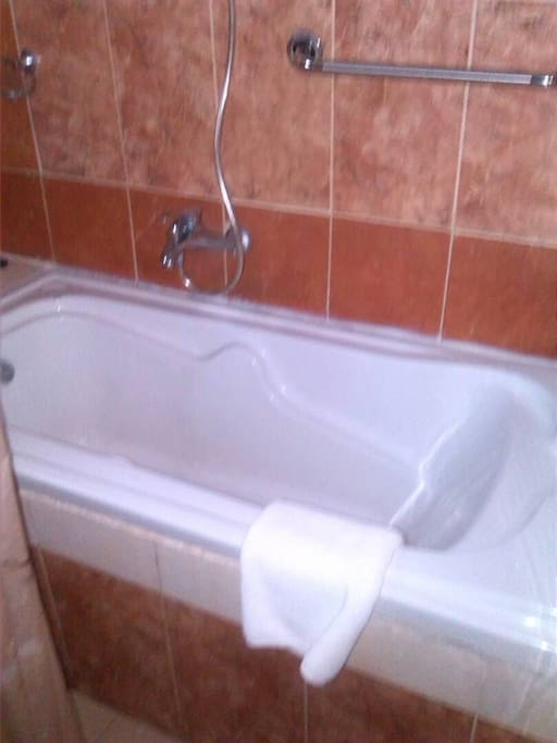 Bath tube with Shower option