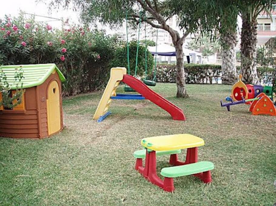 Jardín niños comunitario