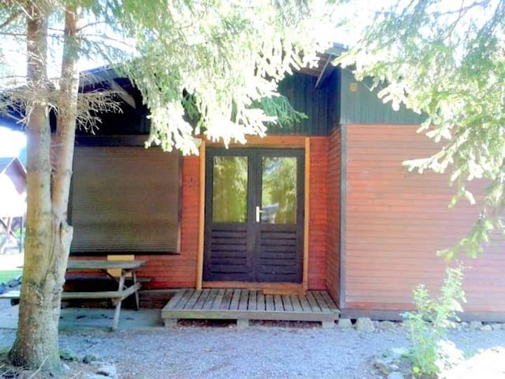 Chalet with 2 bedrooms in Tellin, with wonderful mountain view, furnished garden and WiFi
