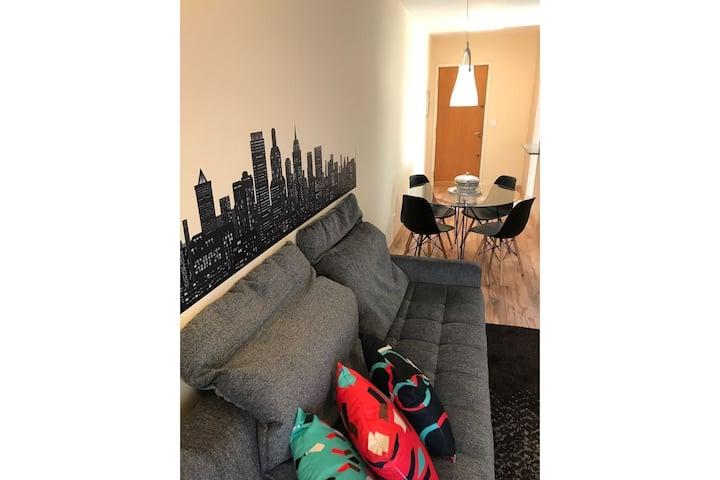Charmoso Apartamento no Bairro Jardim