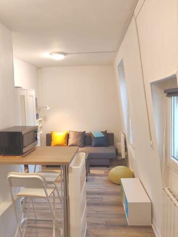 Private ! Cozy & safe studio near Paris - WiFi+TV
