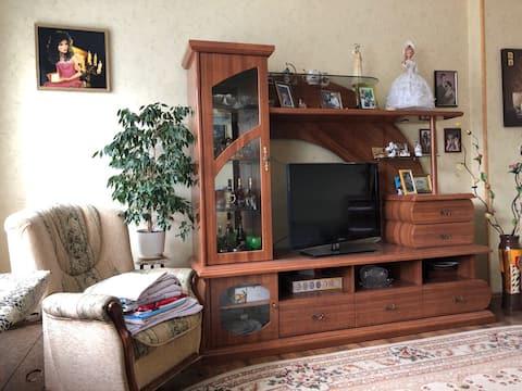 Уютная и светлая квартира на улице Спортивная