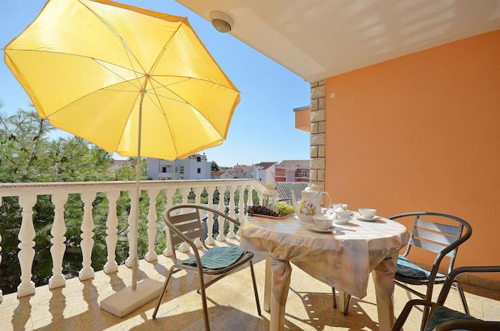 Two Bedroom Apartment, in Vodice, Terrace