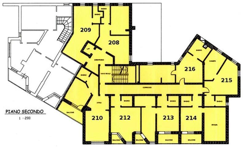 piantina piano (appartamento 212)