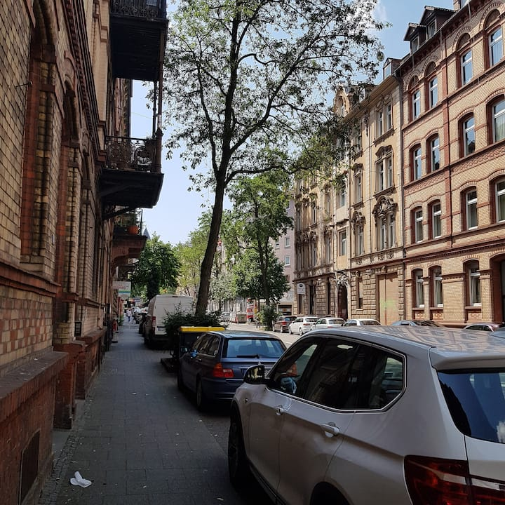 At home in Frankfurt and Wiesbaden