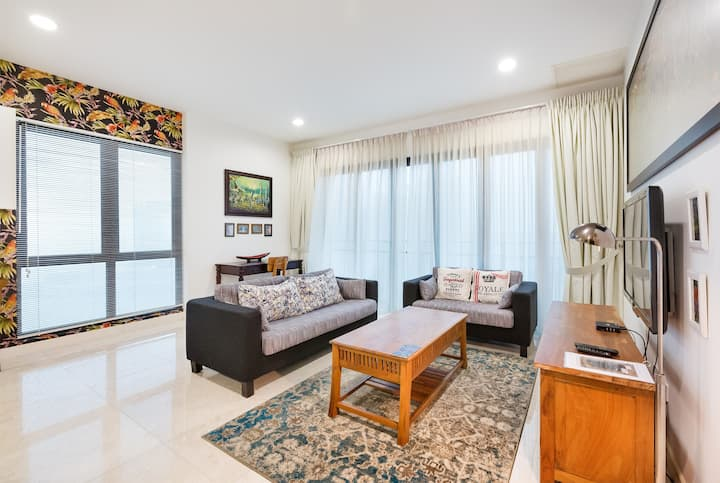 1-bed condo Imperia Puteria Harbour, 20th floor