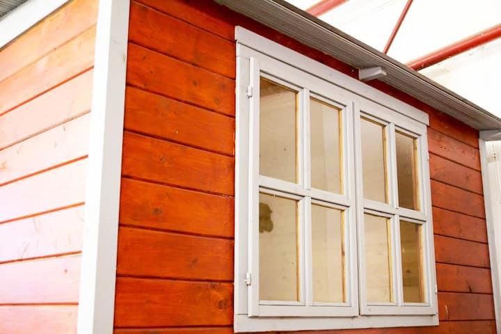 HafenTraum IndoorHostelCamp TinyHouse Schweden