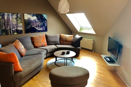 Cosy apartment 15min from Frankfurt City + parking