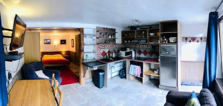 Studio Apartment in Bozel