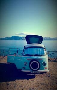Volkswagen T2 California  ano 70 - Font de Sa Cala
