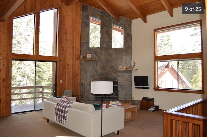 Peaceful Cabin in the Sequoia National Forest