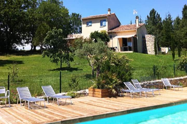 Gîte 6 personnes avec piscine en Ardèche Sud