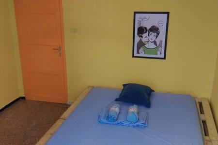 Pallets House, double bed - Santa Cruz de Tenerife, Canarias, ES - House