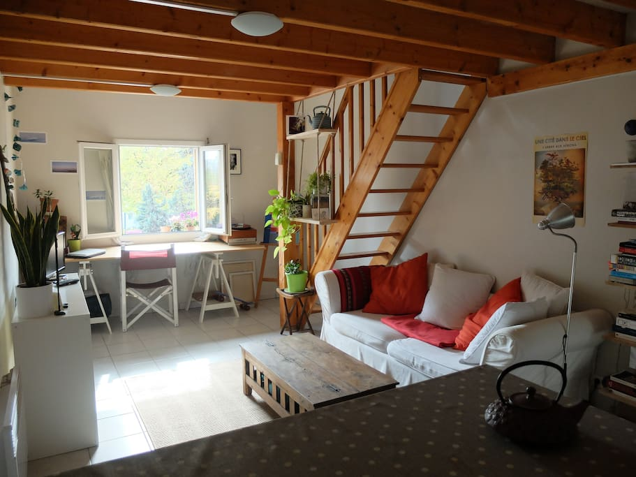 Studio duplex petit port universit appartements louer for Piscine nantes petit port